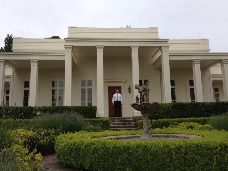 NO. 392-1 SITE OF HARASZTHY VILLA - Rebuilt Villa