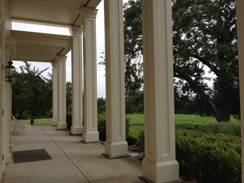 NO. 392-1 SITE OF HARASZTHY VILLA - Front Porch