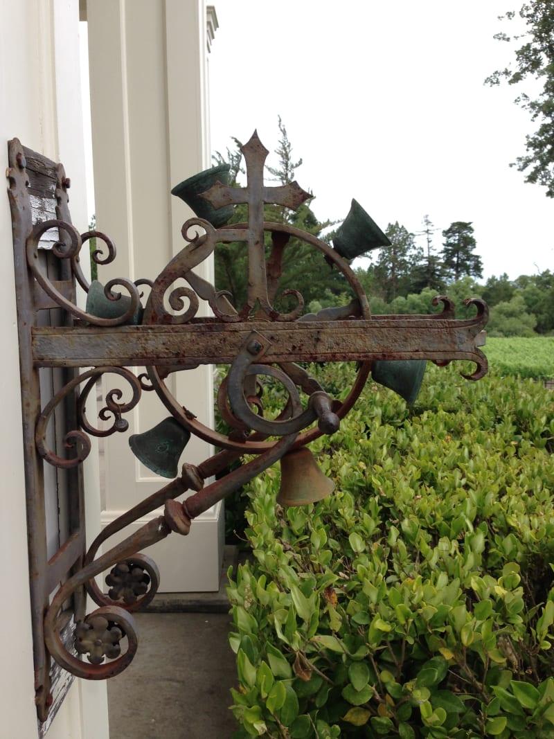 NO. 392-1 SITE OF HARASZTHY VILLA - Front Door Bells