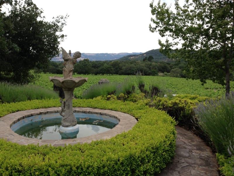 NO. 392-1 SITE OF HARASZTHY VILLA - Fountain
