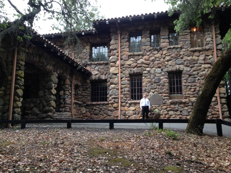 """NO. 743 JACK LONDON STATE HISTORIC PARK - """"The House of Happy Walls"""""""