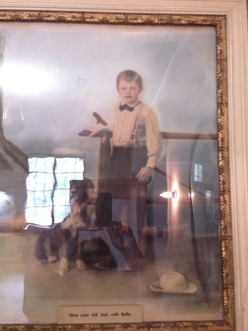 NO. 743 JACK LONDON STATE HISTORIC PARK - 9 year old Jack London