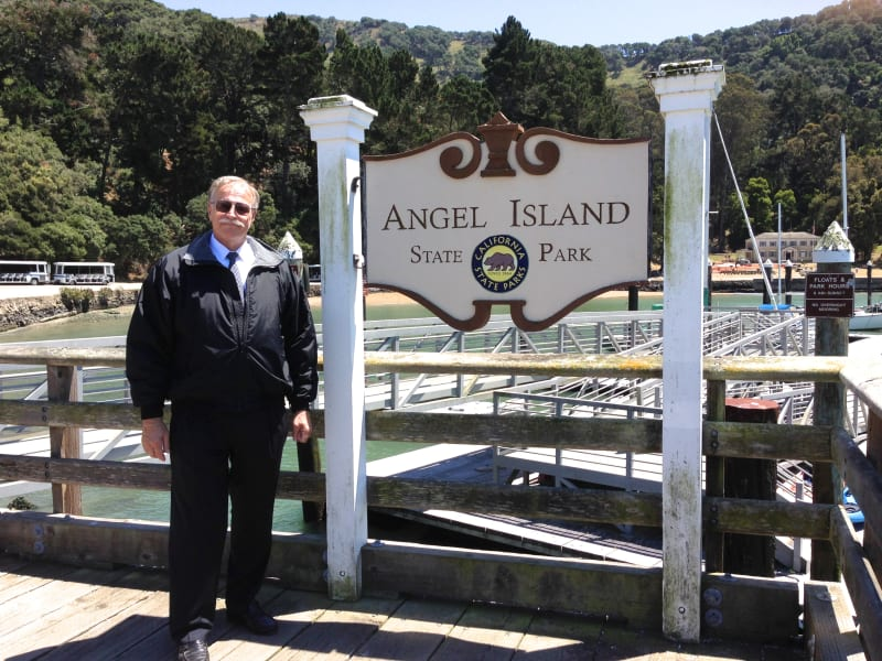 NO. 529 ANGEL ISLAND - State Sign