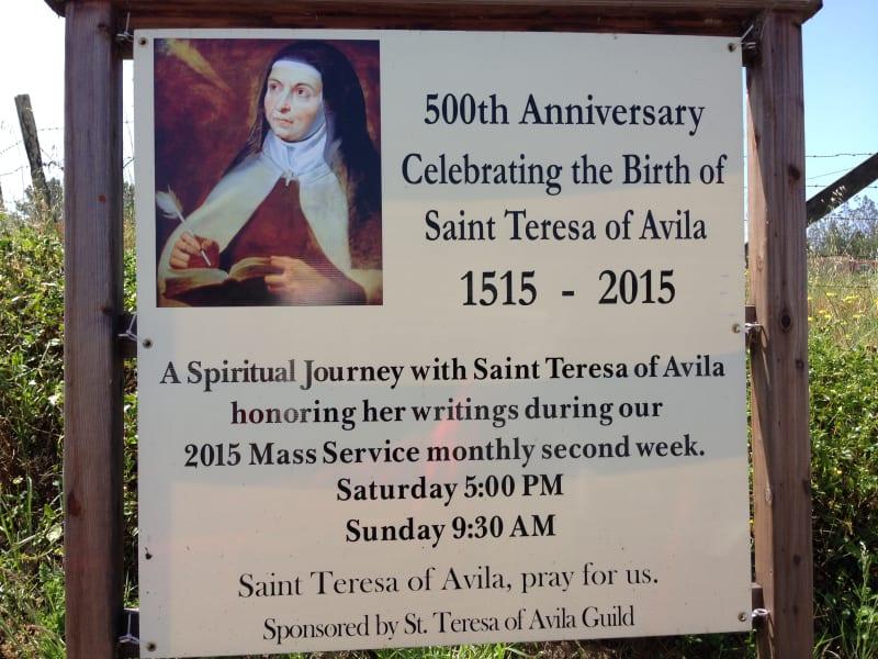 NO. 820 ST. TERESA'S CHURCH - Anniversary Celbration