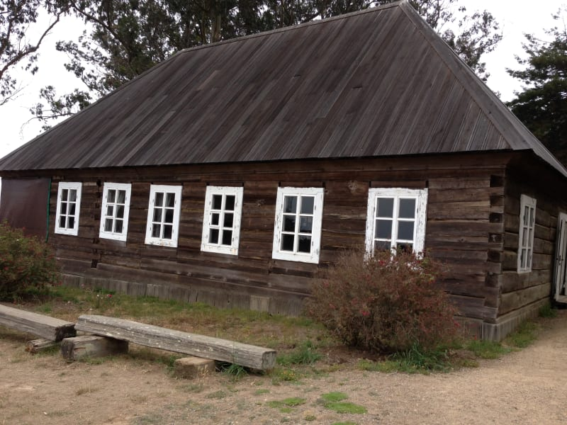 NO. 5 FORT ROSS - the Rotchev House