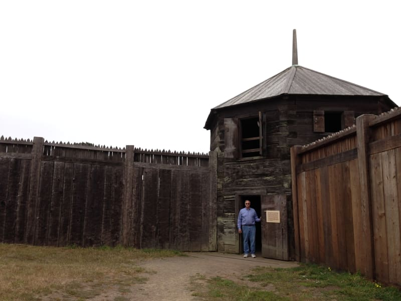 NO. 5 FORT ROSS - Blockhouse
