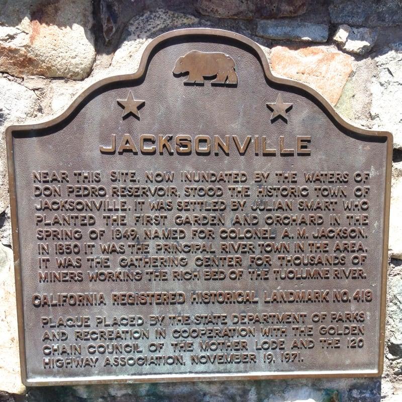 NO. 419 JACKSONVILLE - State Plaque