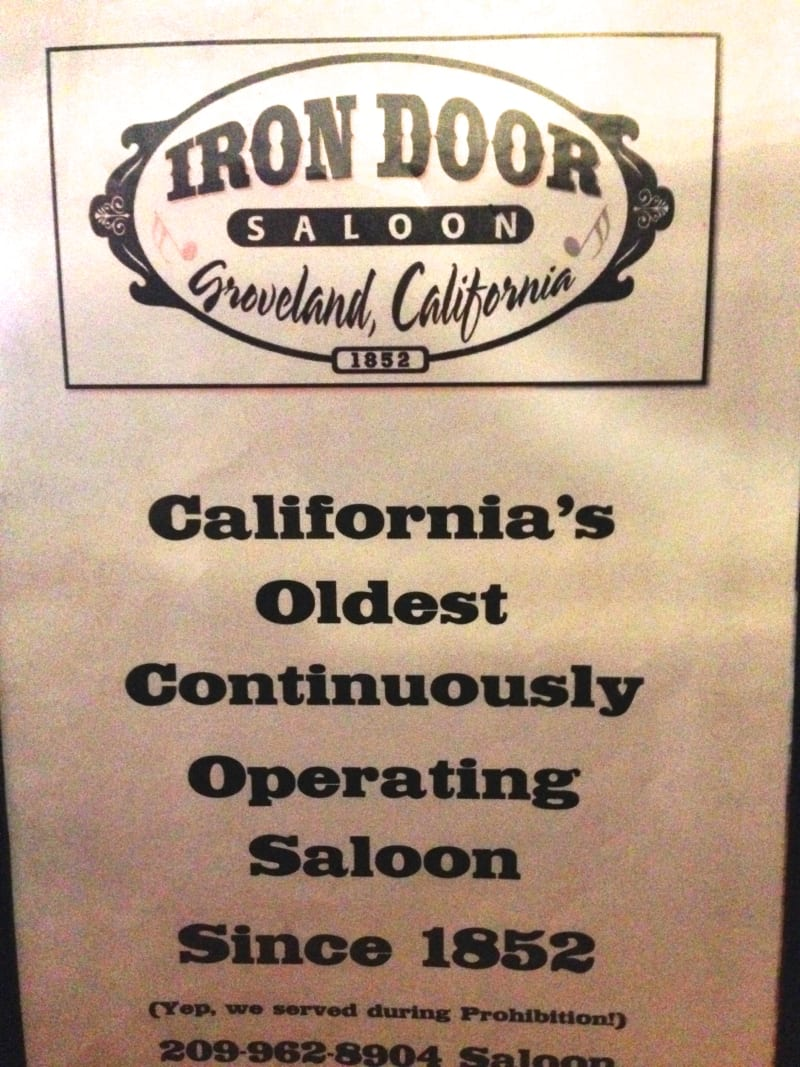 NO. 446 GROVELAND - Iron Door Saloon