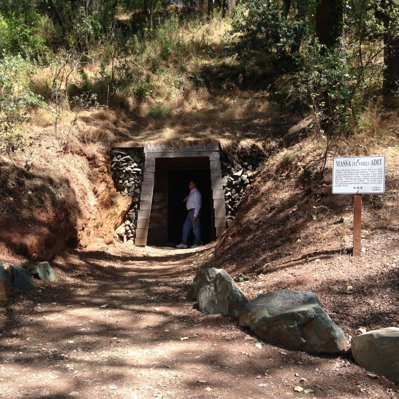 NO. 118 JACKSON GATE - The Massa Tunnel connects to the Kennedy Mine