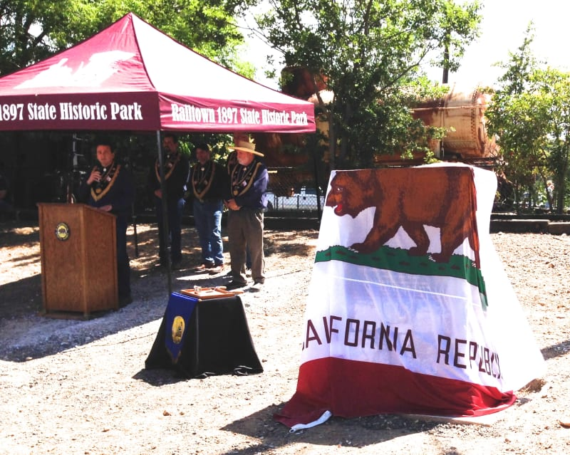 No. 1053 Sierra Railway Shops -  Dedication Ceremony, June 27, 2015