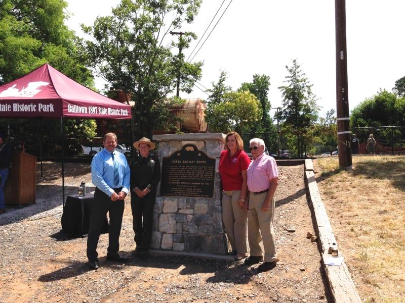 No. 1053 Sierra Railway Shops - Superintendent, Kim Baker
