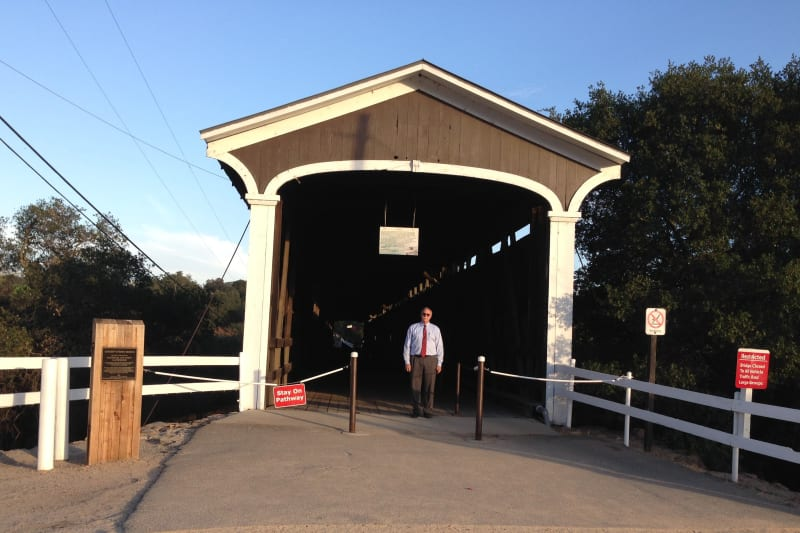 NO. 347 KNIGHTS FERRY - Covered Bridge