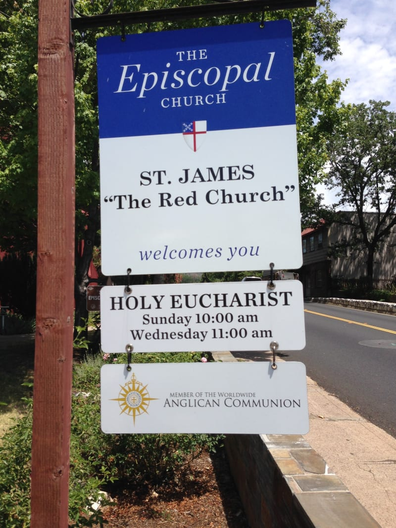 No. 139 ST. JAMES EPISCOPAL CHURCH - Hours