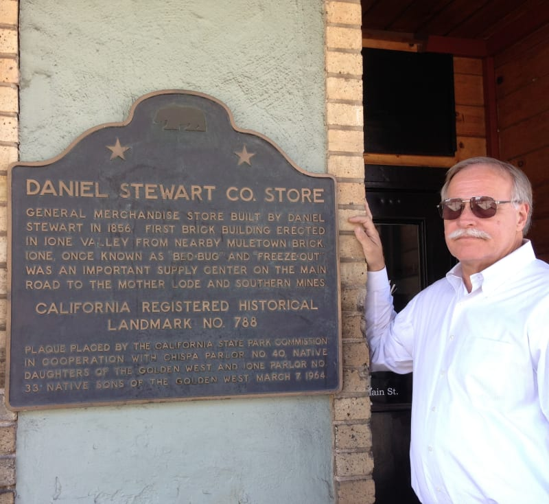 NO. 788 D. STEWART CO. STORE - State Plaque