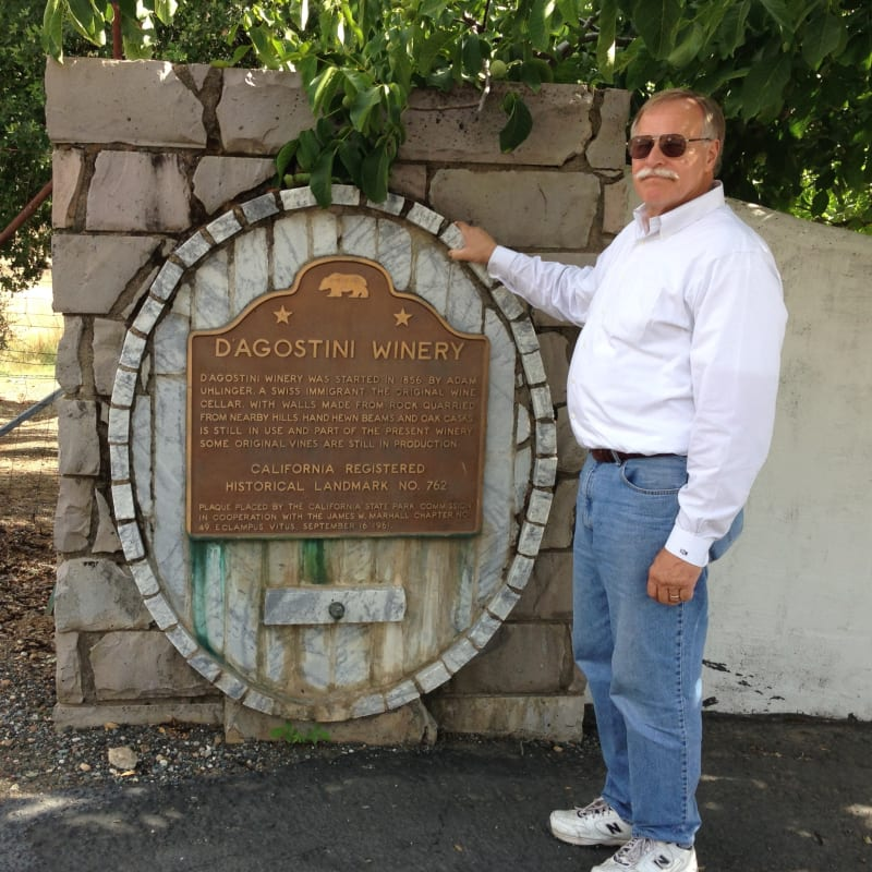 NO. 762 D'AGOSTINI WINERY - Marker