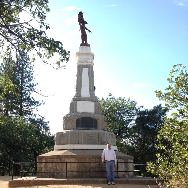 NO. 143 MARSHALL MONUMENT -