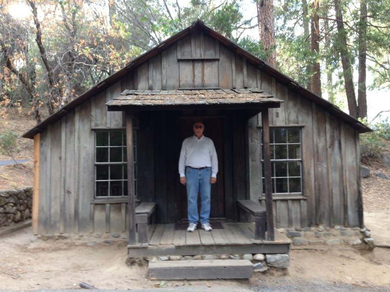 NO. 143 MARSHALL MONUMENT - Marshall's Cabin