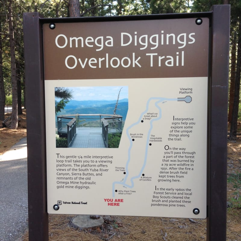 NO. 629 OMEGA HYDRAULIC DIGGINGS AND TOWNSITE - Omega Diggings