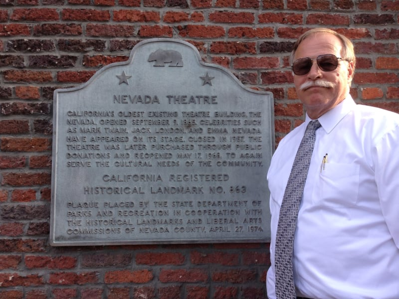 NO. 863 NEVADA THEATRE - State Plaque