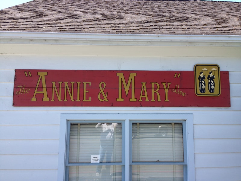 Annie and Mary were the secretaries at opposite ends of the railroad.
