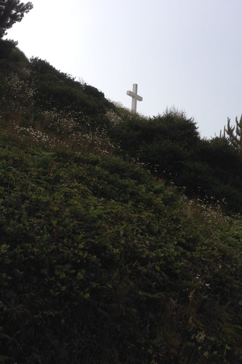 NO. 173 CENTERVILLE BEACH CROSS - As seen from Centerville Road
