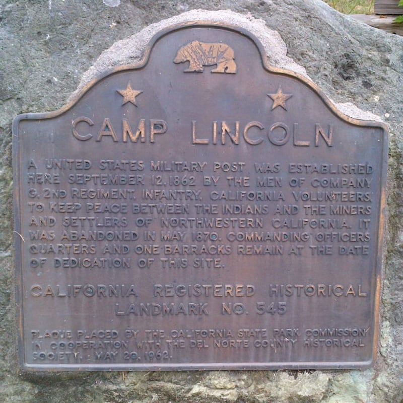 NO. 545 CAMP LINCOLN - State Plaque