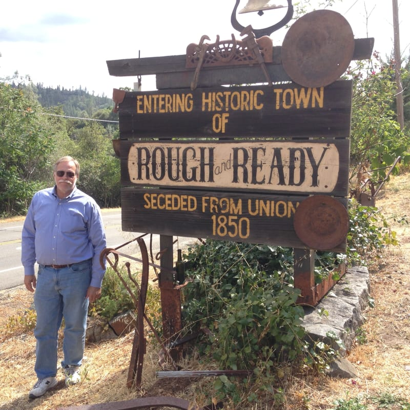 NO. 294 THE LITTLE TOWN OF ROUGH AND READY