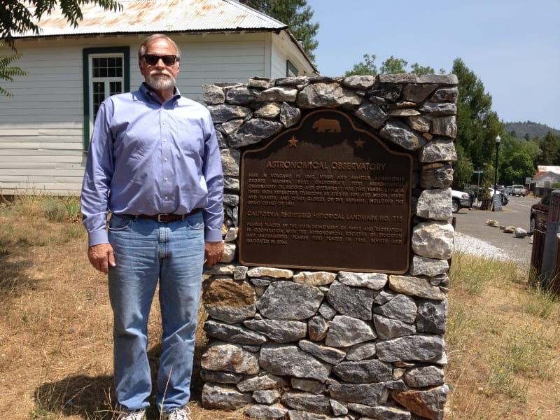 NO. 715 FIRST AMATEUR ASTRONOMICAL OBSERVATORY IN CALIFORNIA - New Marker