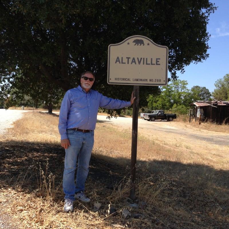 NO. 288 ALTAVILLE - Street Sign