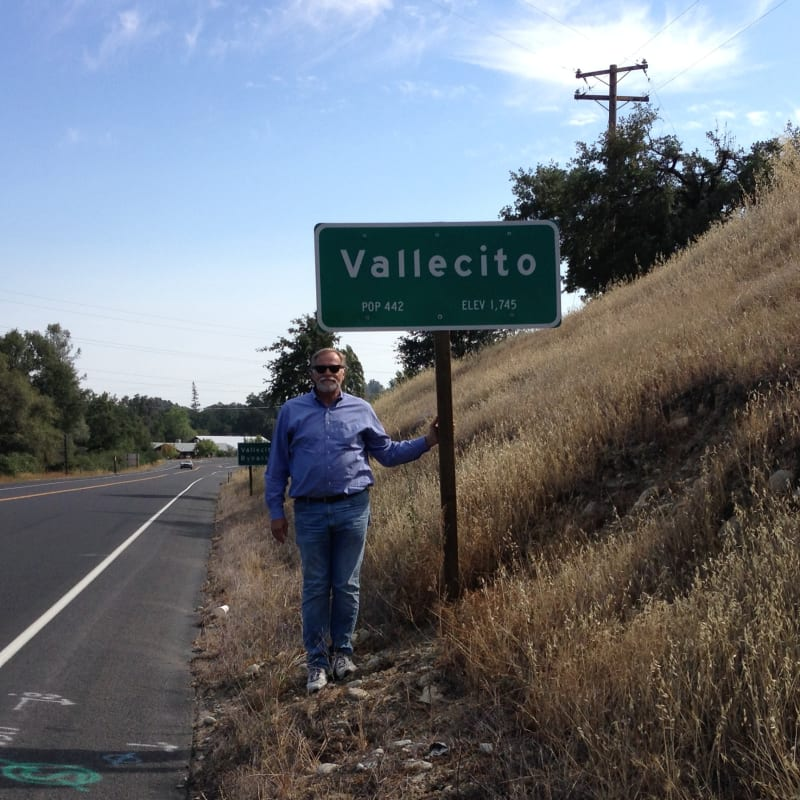 NO. 273 VALLECITO - HWY Sign