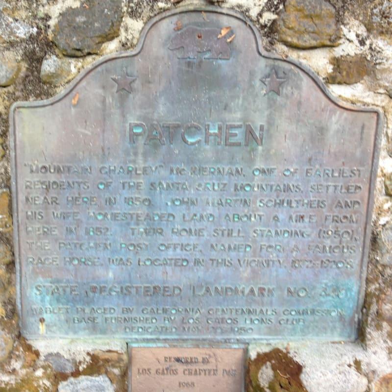 NO. 448 PATCHEN - Plaque