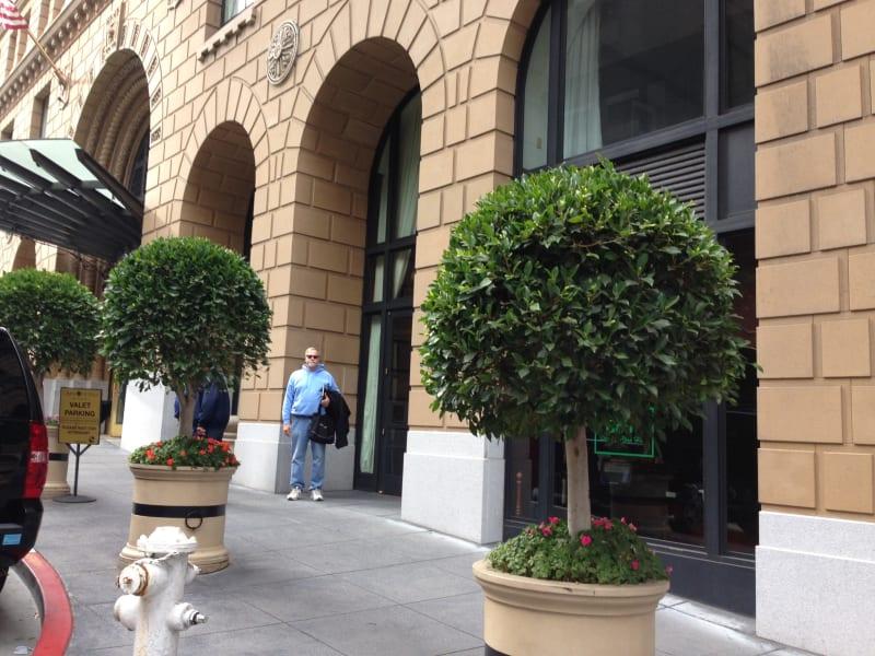 NO. 89 SITE OF PARROTT GRANITE BLOCK - Now the Omni Hotel