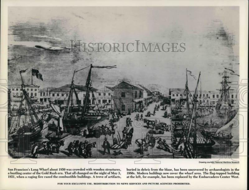 Log Wharf 1850