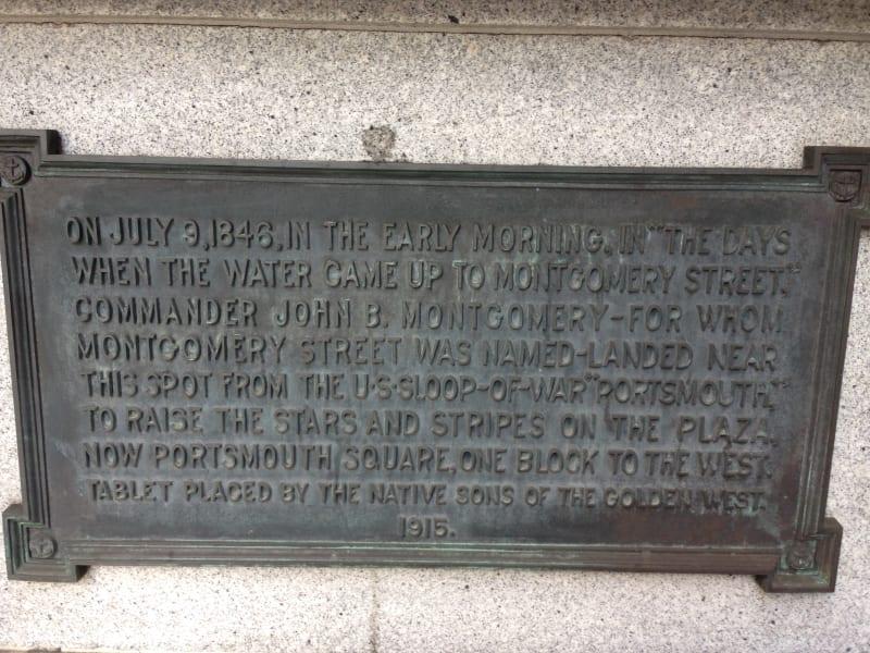 NO. 81 LANDING PLACE OF CAPTAIN J. B. MONTGOMERY -