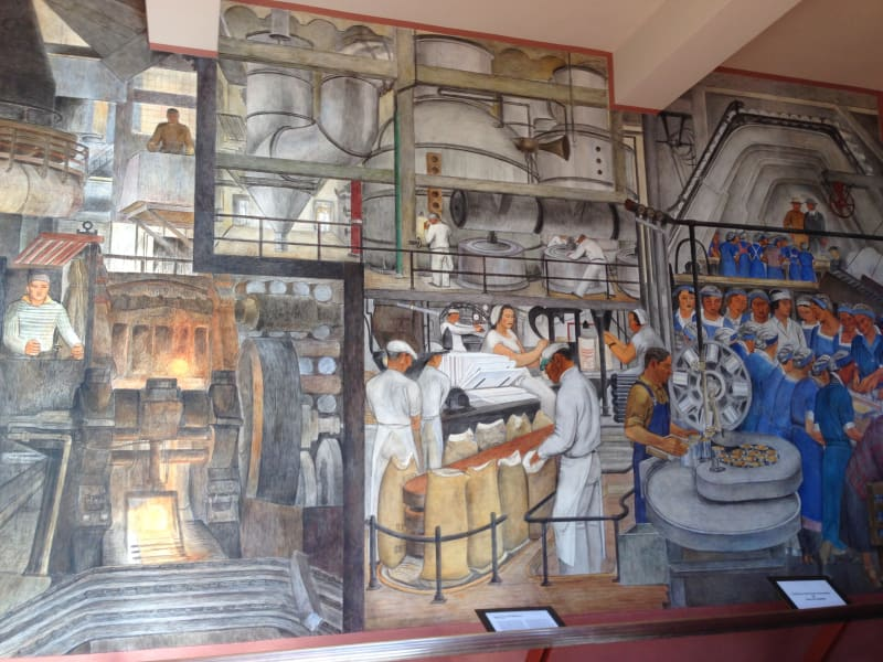 NO. 91 TELEGRAPH HILL - Coit Tower Lobby Mural