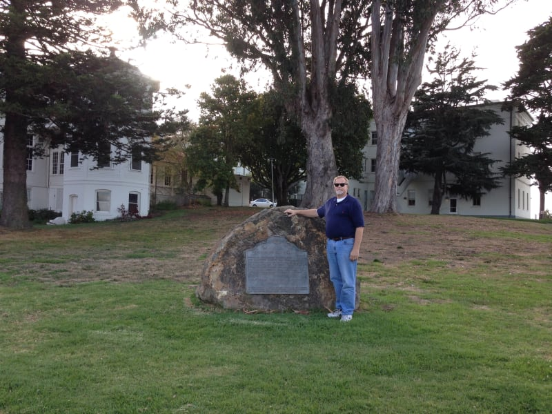 NO. 79  PRESIDIO OF SAN FRANCISCO – Marker