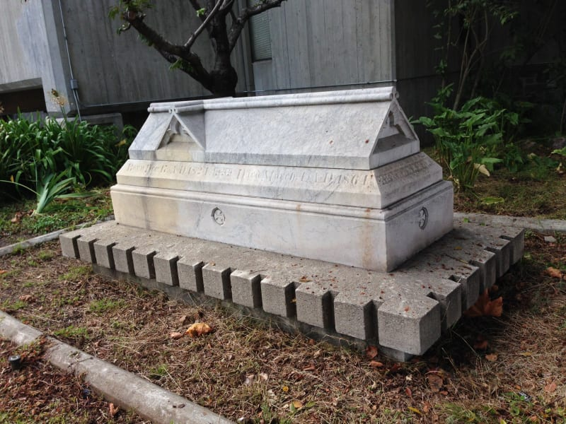 NO. 691 SARCOPHAGUS OF THOMAS STARR KING