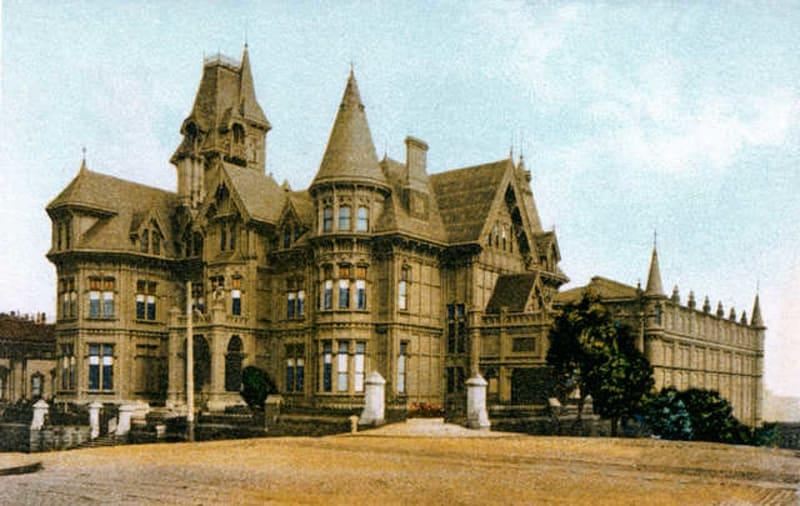 Original Mark Hopkins Mansion on Nob Hill. See link above