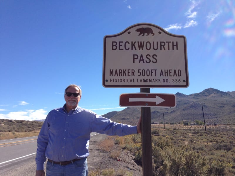 NO. 336 BECKWOURTH PASS - Road Sign