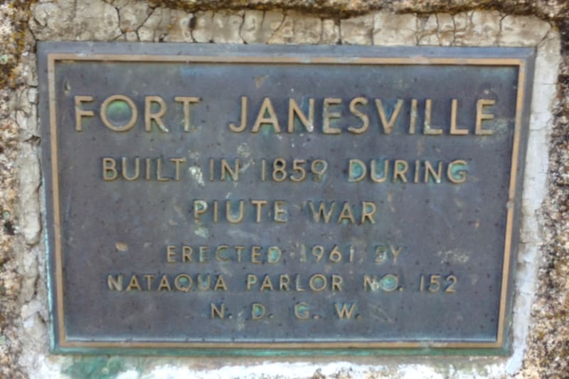 NO. 758 FORT JANESVILLE - Private Plaque