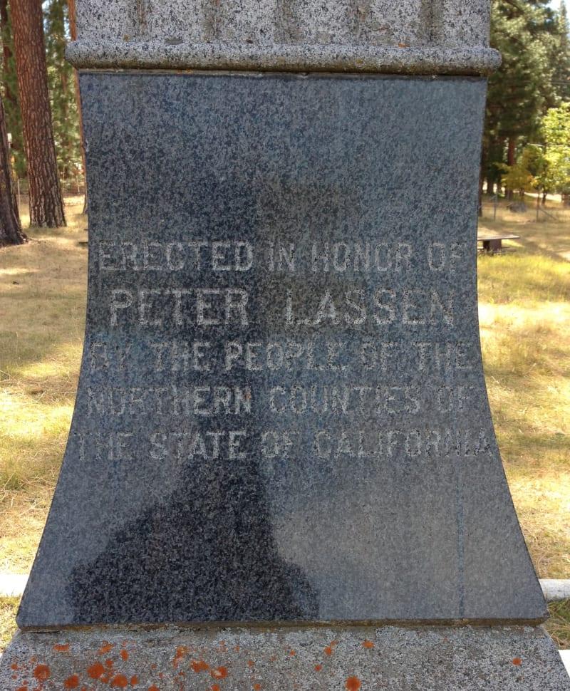 NO. 565 PETER LASSEN GRAVE -