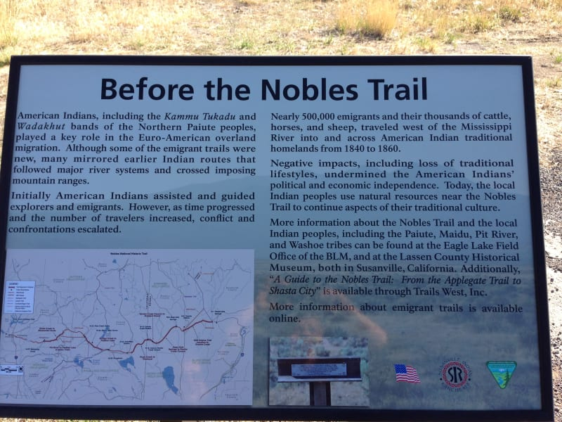 NO. 677 NOBLE EMIGRANT TRAIL