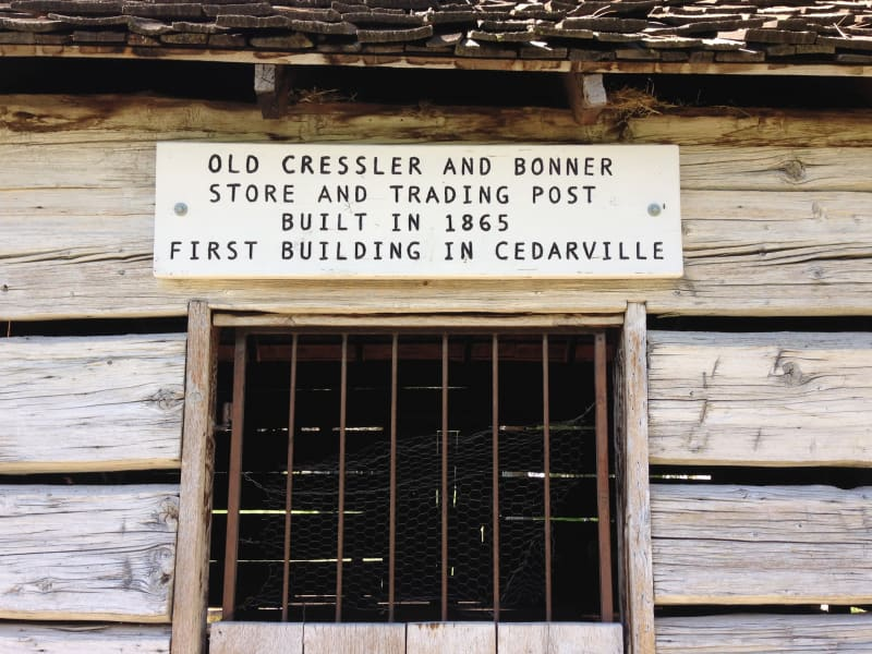 NO. 14 CRESSLER AND BONNER TRADING POST