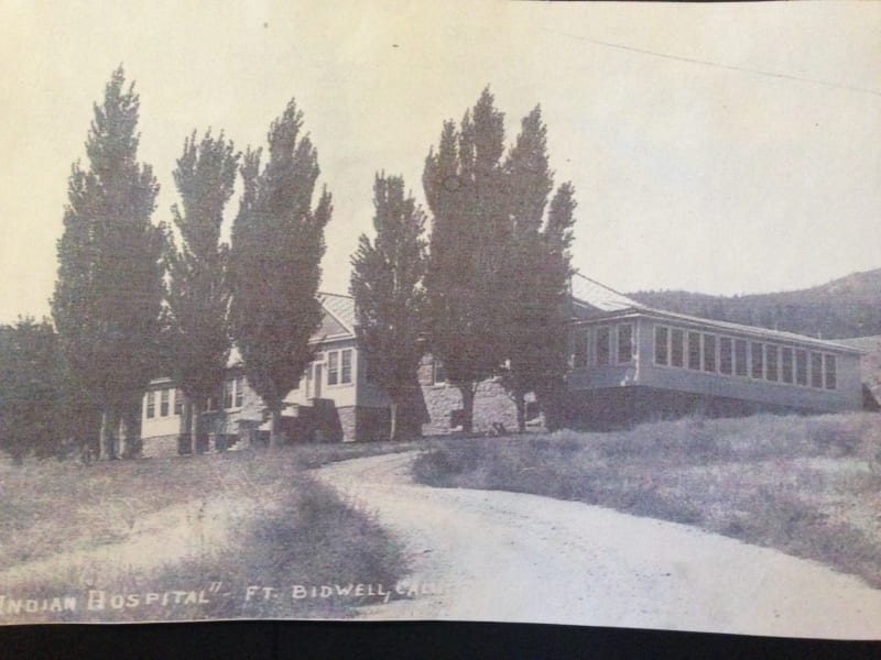 NO. 430 FORT BIDWELL - Original hospital