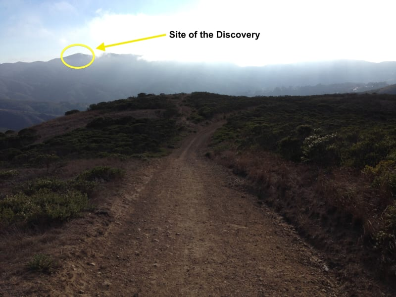 NO. 394 SITE OF THE DISCOVERY OF SAN FRANCISCO BAY - Discovery Site