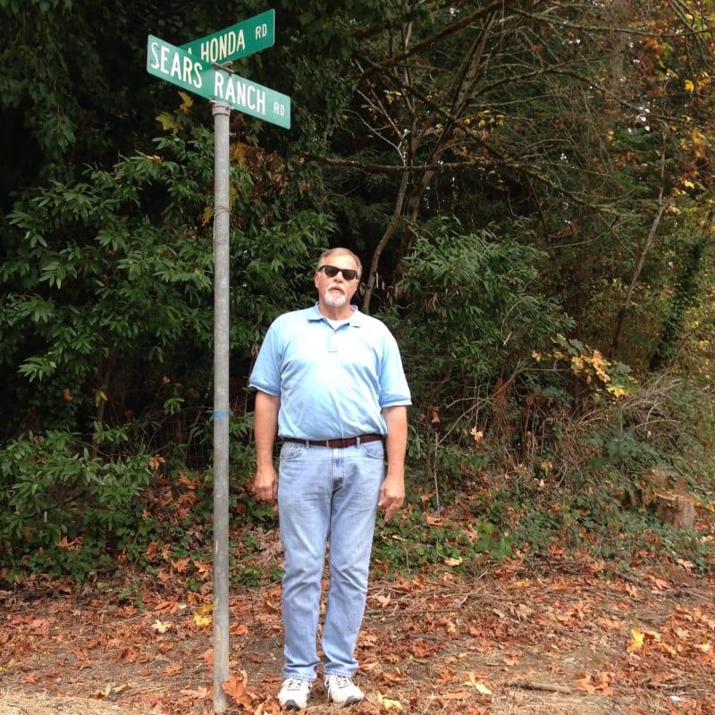NO. 343 OLD STORE AT LA HONDA - Corner of La Honda and Sears Ranch Roads