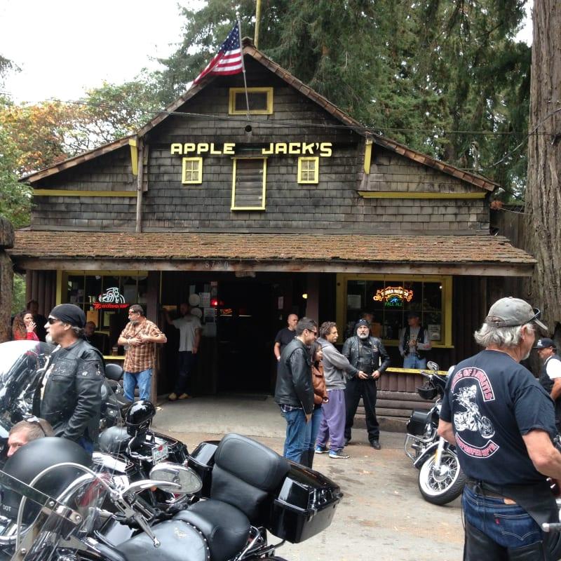 "NO. 343 OLD STORE AT LA HONDA - In 1890, ""Apple Jack's"" was a Blacksmith Shop."