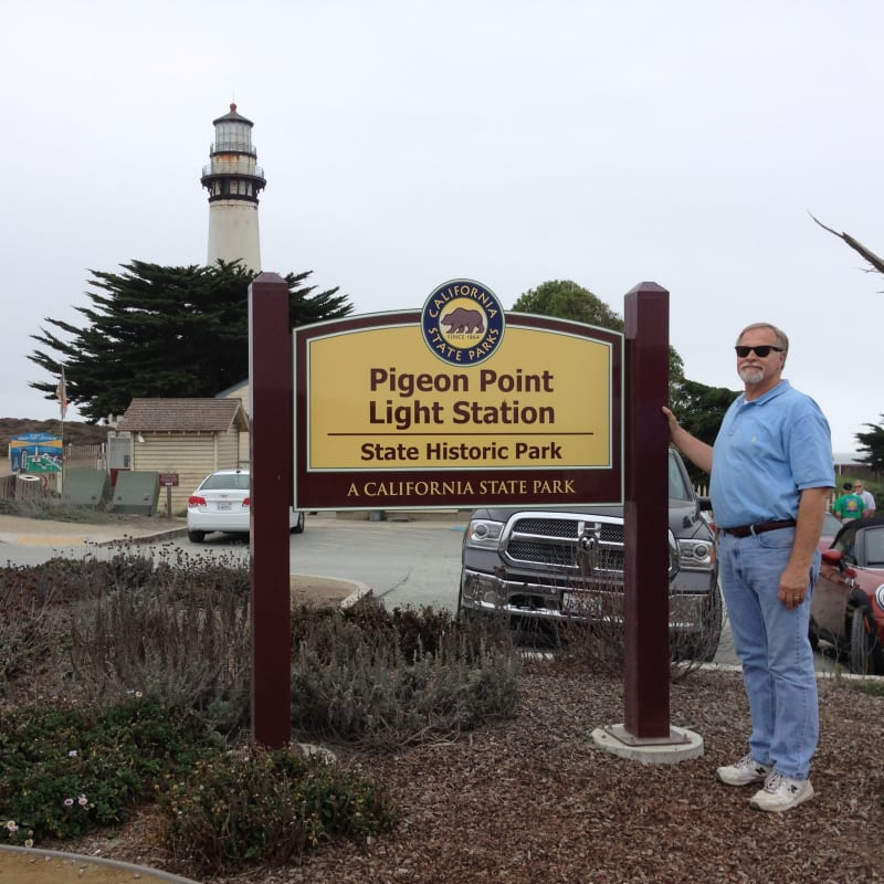 NO. 930 PIGEON POINT LIGHTHOUSE - Park Sign