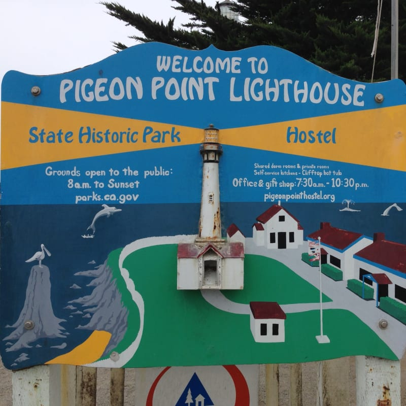 NO. 930 PIGEON POINT LIGHTHOUSE - Hours