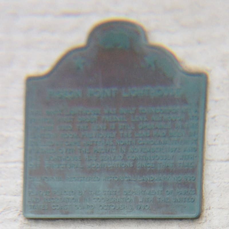 NO. 930 PIGEON POINT LIGHTHOUSE - State Plaque